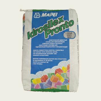 Гидроизоляция Idrosilex Pronto производства Mapei весом 25 кг