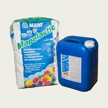 Mapelastic гидроизоляция двухкомпонентная производства Mapei весом 32 кг