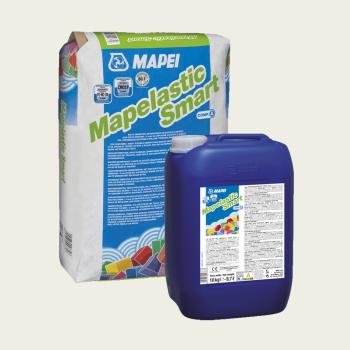 Гидроизоляция двухкомпонентная Mapelastic Smart производства Mapei весом 30 кг