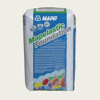 Гидроизоляция Mapelastic Foundation компонент A (сухая часть) производства Mapei весом 22 кг