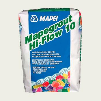 Mapegrout HI-FLOW 10 ремонтный состав производства Mapei весом 25 кг