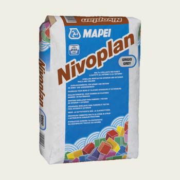 Nivoplan Plus штукатурка производства Mapei весом 25 кг