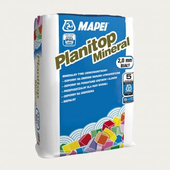 Planitop Mineral 2,0 мм штукатурка производства Mapei весом 25 кг