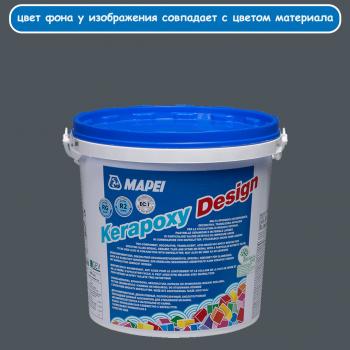 Kerapoxy Design 114 антрацит эпоксидная затирка производства Mapei весом 3 кг