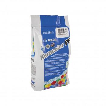 Затирка Keracolor FF 100 цвет белый производства Mapei весом 2 кг