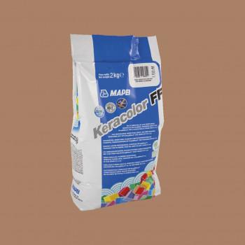 Затирка Keracolor FF 142 цвет коричневый производства Mapei весом 2 кг