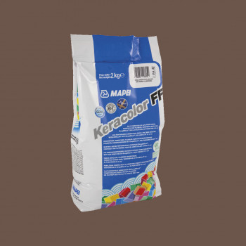 Затирка Keracolor FF 144 цвет шоколад производства Mapei весом 2 кг