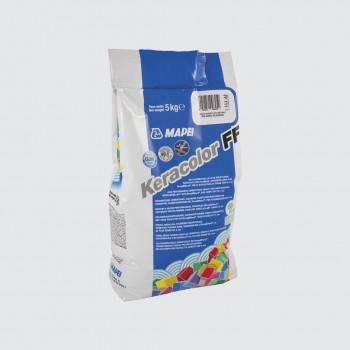 Затирка Keracolor FF 111 цвет светло-серый производства Mapei весом 5 кг