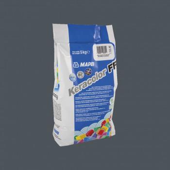 Затирка Keracolor FF 114 цвет антрацит производства Mapei весом 5 кг