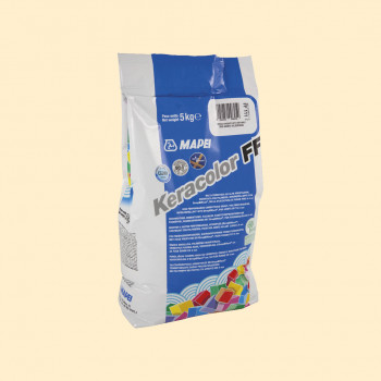 Затирка Keracolor FF 131 цвет ваниль производства Mapei весом 5 кг