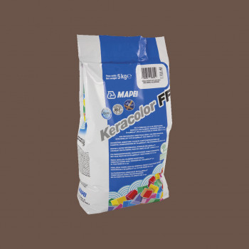 Затирка Keracolor FF 144 цвет шоколад производства Mapei весом 5 кг