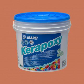 Kerapoxy 140 цвет красный коралл эпоксидная затирка производства Mapei весом 10 кг