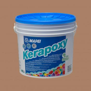 Kerapoxy 142 цвет коричневый эпоксидная затирка производства Mapei весом 5 кг