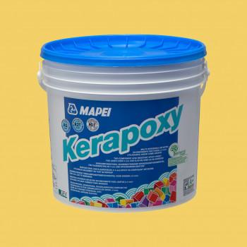 Kerapoxy 150 цвет желтый эпоксидная затирка производства Mapei весом 2 кг