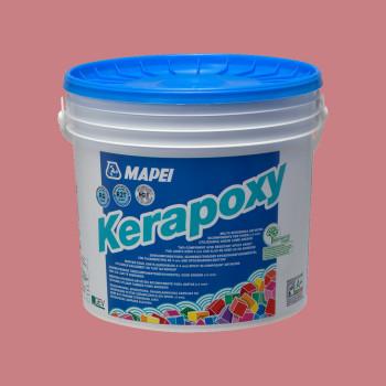 Kerapoxy 161 цвет лилово-розовый эпоксидная затирка производства Mapei весом 10 кг