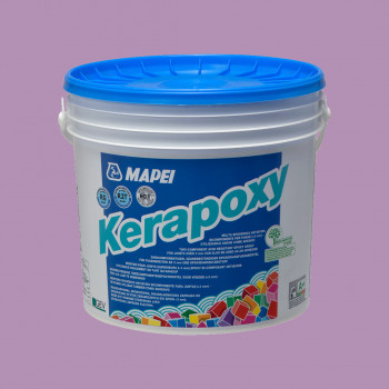 Kerapoxy 162 цвет фиолетовый эпоксидная затирка производства Mapei весом 2 кг