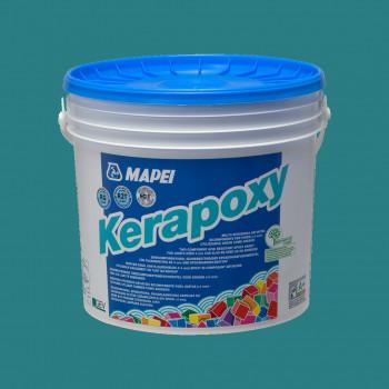 Kerapoxy 171 цвет бирюзовый эпоксидная затирка производства Mapei весом 10 кг