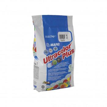 Затирка Ultracolor Plus 100 цвет белый производства Mapei весом 2 кг