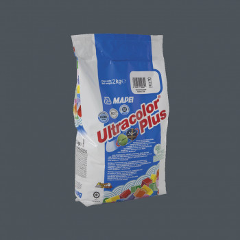 Затирка Ultracolor Plus 114 цвет антрацит производства Mapei весом 2 кг