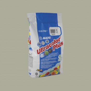 Затирка Ultracolor Plus 115 цвет серая река производства Mapei весом 2 кг