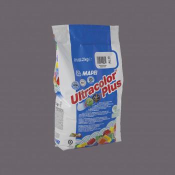 Затирка Ultracolor Plus 119 цвет серый Лондон производства Mapei весом 2 кг