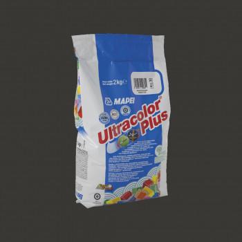 Затирка Ultracolor Plus 120 цвет черный производства Mapei весом 2 кг