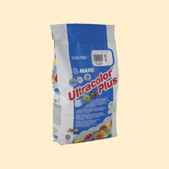 Затирка Ultracolor Plus 131 цвет ваниль производства Mapei весом 2 кг