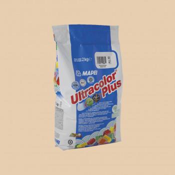 Затирка Ultracolor Plus 132 цвет бежевый производства Mapei весом 2 кг
