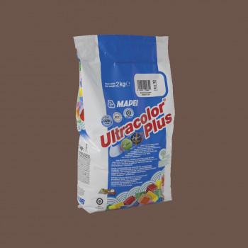 Затирка Ultracolor Plus 144 цвет шоколад производства Mapei весом 2 кг