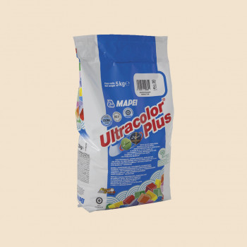 Затирка Ultracolor Plus 130 цвет жасмин производства Mapei весом 5 кг