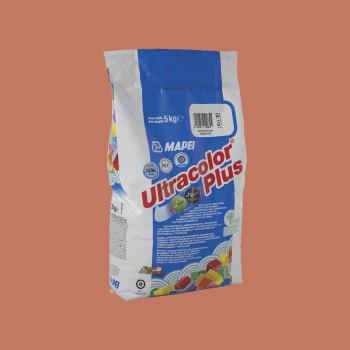 Затирка Ultracolor Plus 145 цвет охра производства Mapei весом 5 кг