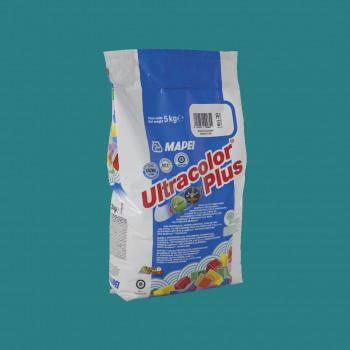 Затирка Ultracolor Plus 171 цвет бирюзовый производства Mapei весом 5 кг