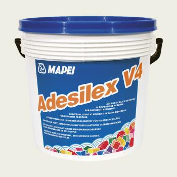 Adesilex V4 клей для напольных покрытий производства Mapei весом 12 кг