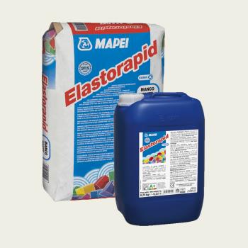 Elastorapid клей для плитки серый комплект производства Mapei весом 31,25 кг
