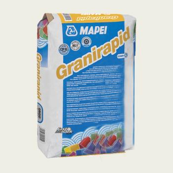Granirapid клей для плитки компонент А производства Mapei весом 22,5 кг белый (сухая смесь)