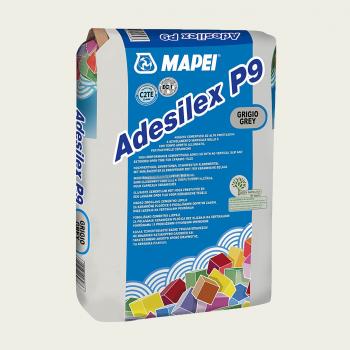 Adesilex P9 клей для плитки серый производства Mapei весом 25 кг