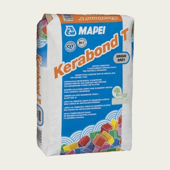 Kerabond T клей для плитки серый производства Mapei весом 25 кг