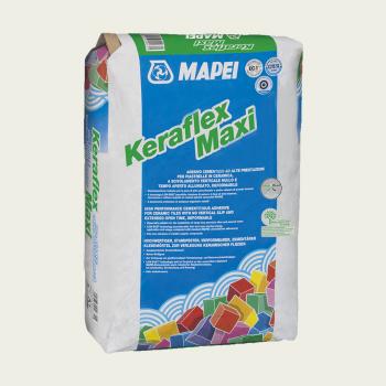 Keraflex Maxi клей для керамической плитки серый производства Mapei весом 25 кг