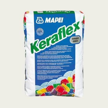Keraflex клей для плитки белый производства Mapei весом 25 кг