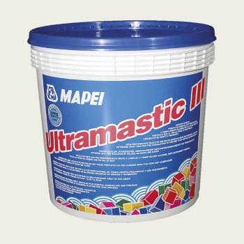 Ultramastic III клей для плитки белый производства Mapei весом 12 кг