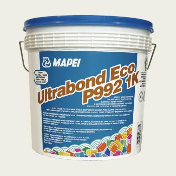 Ultrabond Eco P992 1K клей для паркета производства Mapei весом 15 кг