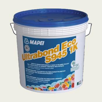 Ultrabond Eco S945 1K клей для паркета производства Mapei весом 15 кг