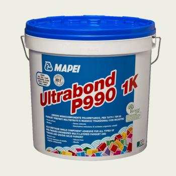 Ultrabond P990 1K клей для паркета производства Mapei весом 15 кг