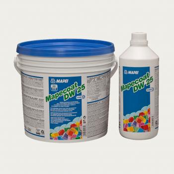 Mapecoat DW 25 эпоксидная краска комплект производства Mapei весом 5 кг