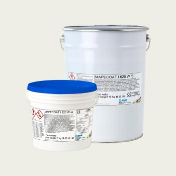 Mapecoat I 620 W эпоксидное защитное покрытие производства Mapei весом 15 кг