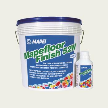 Mapefloor Finish 52W полимерная краска производства Mapei весом 5,4 кг