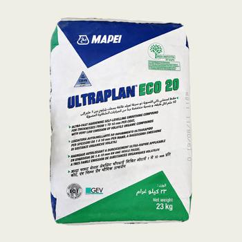 Ultraplan ECO 20 ровнитель для пола производства Mapei весом 23 кг